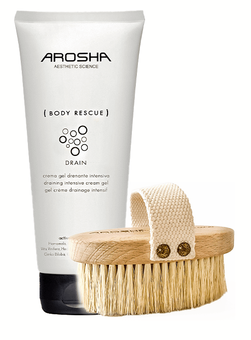 BODY RESCUE DRAIN AND FREE BODY BRUSH